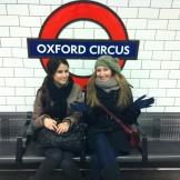London - Oxford Circus tube Station