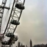London - London Eye & Big Ben